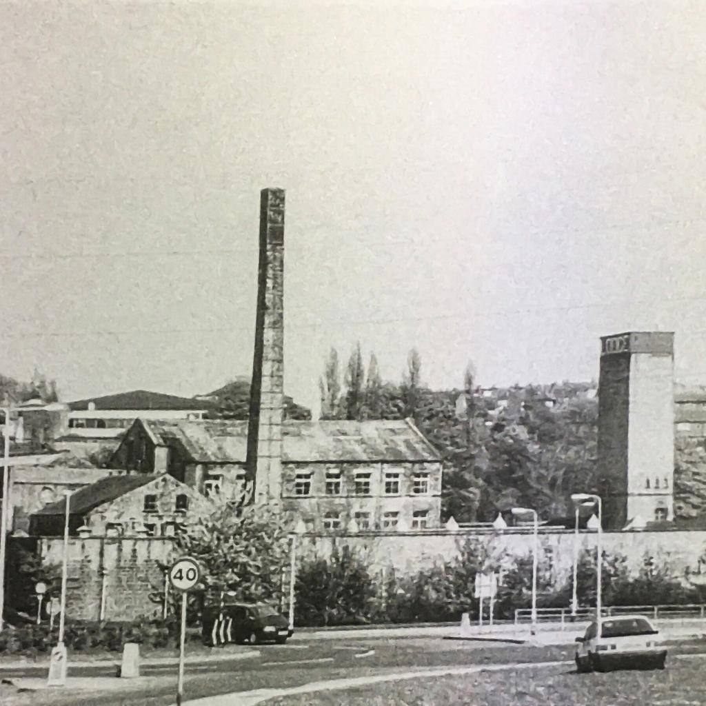 Stonebridge Beck mill historic view